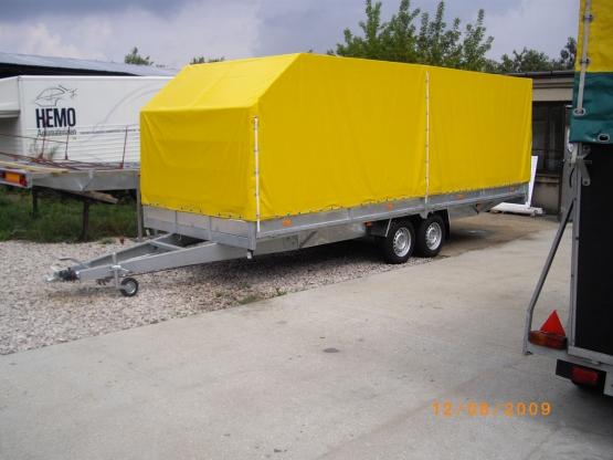 Przyczepy ciężarowe od 760 do 3500kg